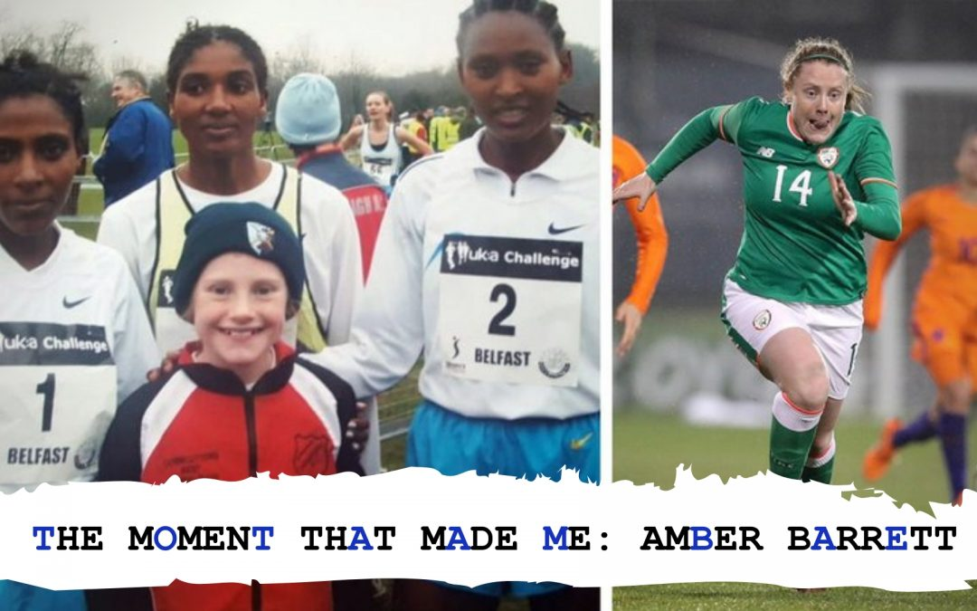 The Moment That Made Me: AMBER BARRETT